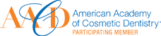 American Academy of Cosmetic Dentistry Participating Member